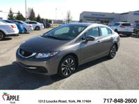 Honda Certified Pre-Owned. ** SNEAK PEAK ** NEW ARRIVAL