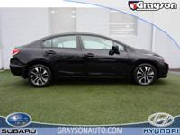 CARFAX 1-Owner. Sunroof, CD Player, Keyless Start,