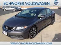 This 2015 Honda Civic Sedan EX is offered to you for