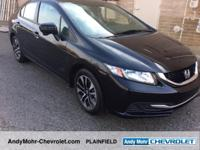 Honda Civic  CARFAX One-Owner. Odometer is 3884 miles