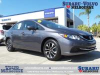 LOW MILEAGE 2015 HONDA CIVIC SEDAN EX**FLORIDA