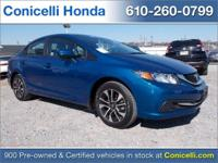This 2015 Honda Civic Sedan EX is priced to sell. A ton