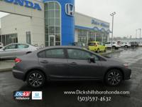 PRETTY 1-OWNER CAR WITH SUNROOF! CERTIFIED by Honda!!