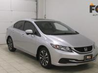 This outstanding example of a 2015 Honda Civic Sedan EX