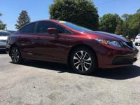 PREMIUM & KEY FEATURES ON THIS 2015 Honda Civic Sedan