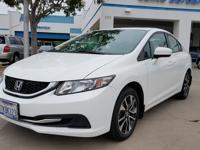Options:  2015 Honda Civic Seda Ex|White|Automatic|1.8L