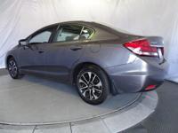 Options:  2015 Honda Civic Sedan Ex|Modern Steel/|V4