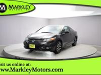Our fresh-faced Carfax One Owner 2015 Honda Civic Coupe