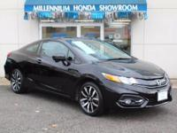 This Honda Certified Civic Coupe 2dr CVT EX-L w/Navi