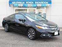 This Honda Certified Civic Coupe EX-L  is Priced Below