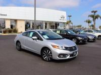 Options:  2015 Honda Civic Ex-L|Silver|The