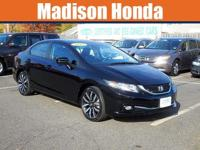 2015 HONDA CIVIC EX-L / One-Owner. Clean CARFAX. 2015