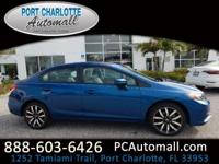 CARFAX One-Owner. Clean CARFAX. Certified. Blue 2015