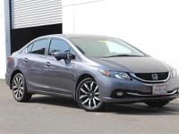 Only 33,825 Miles!!! 2015 Honda Civic EX-L!!!