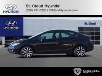 CARFAX One-Owner. Clean CARFAX. 2015 Honda Civic EX-L