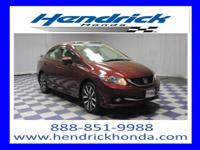 Honda Certified Warranty, CVT Transmission, Sunroof,