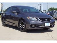 * HONDA CERTIFIED *, ** SUNROOF **, ** ALLOY WHEELS **,
