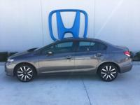 Check out this 2015 Honda Civic Sedan EX-L. Its