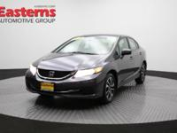 2015 4D Sedan Gray 2015 Honda Civic EX FWD 1.8L I4 SOHC