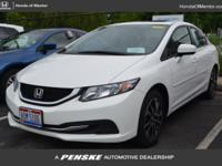 CARFAX 1-Owner, Honda Certified, LOW MILES - 16,206! EX