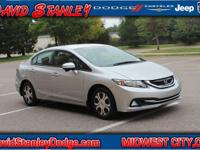 ***HYBRID***. Civic Hybrid, 4D Sedan, 1.5L I4 SOHC 8V