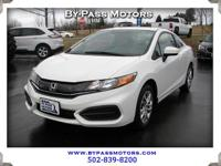 Check this one out! 2015 honda civic lx coupe! Low low