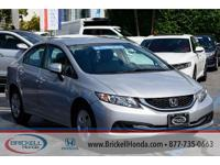 Brickell Honda is pleased to offer this Beautiful 2015