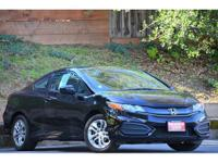 2015 honda civic lx * coupe * one owner * vin: