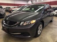 This is a very nice 2015 Honda Civic LX model for sale.