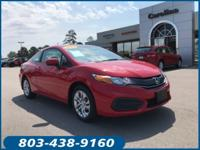 New Price! Clean CARFAX. 2015 Honda Civic LX FWD CVT