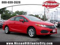 Check out this 2015 Honda Civic Coupe LX. Its Manual