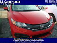 Options:  2015 Honda Civic Coupe Lx|/|V4 1.8 L