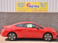 2015 Honda Civic LX  in Rallye Red and REMAINDER OF