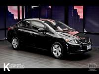 Civic LX, 4D Sedan, 1.8L I4 SOHC 16V i-VTEC, and