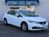 This Honda Certified Civic Sedan 4dr CVT LX is Priced