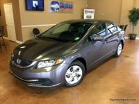 Options:  2015 Honda Civic Lx Sedan 4D|Carfax Certified