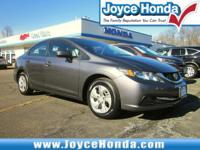 Honda Certified, Balance of Manufacture Warranty, Clean