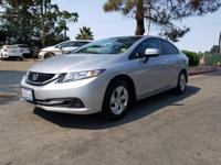 Options:  2015 Honda Civic Seda Lx|Silver|What You Can