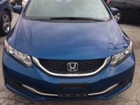 Drive away with this beautiful 2015 Honda Civic. Down
