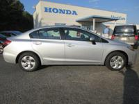 Look at this 2015 Honda Civic Sedan 4dr CVT LX. Its