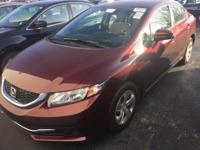 CARFAX One-Owner. Clean CARFAX. 2015 Honda Civic LX in