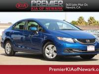 This outstanding example of a 2015 Honda Civic Sedan LX