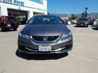 Options:  2015 Honda Civic Seda Lx|Automatic|1.8L I-4