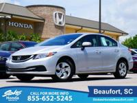 2015 Honda Civic in Silver. Right car! Right price!