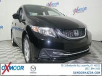New Price! 2015 Honda Civic LX ONE OWNER CLEAN CARFAX!,