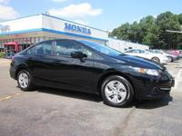 Recent Arrival! Certified. 2015 Honda Civic LX39/30