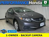HONDA CERTIFIED! 1-OWNER CARFAX VERIFIED! *INCLUDES:*