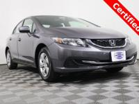 Honda Certified! Bluetooth! Backup Camera! Excellent