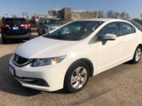 Clean CARFAX. CARFAX One-Owner. 2015 Honda Civic LX