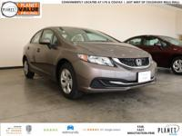 New Price! 2015 Honda Civic LX 1.8L I4 SOHC 16V i-VTEC
